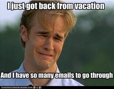 Back to work and I already need a vacation from my vacation!   The ...