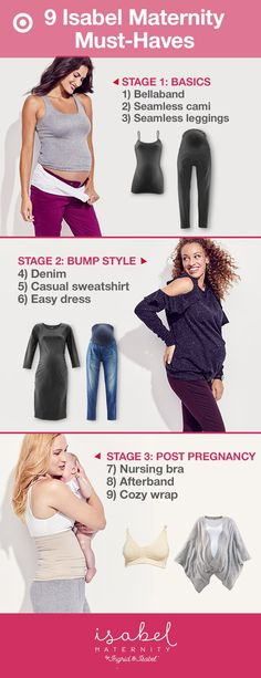 daa6d9f8e05 Isabel Maternity has clothes perfect for each stage of pregnancy and after.  Stage 1
