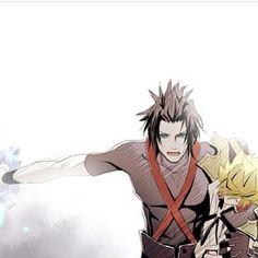 Terra & Ven (Kingdom Hearts : Birth by Sleep)