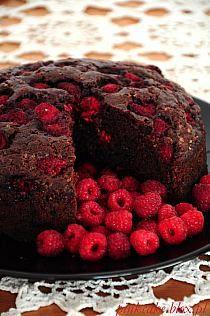 Pyszna salatka idealna do grillowanego mięsa... pomi… na Stylowi.pl Raspberry, Strawberry, Cupcake Cakes, Cooking Recipes, Sweets, Cookies, Chocolate, Fruit, Food