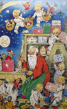 Advent calendar from Germany