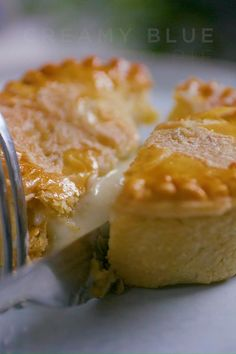 This delicious potato pie recipe made from puff pastry and filled with a Castello creamy blue cheese sauce is indulgence in every bite.