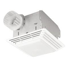 50 Cfm Broan Ventilation Fan Light Combo Quiet Bathroom Ceiling Toilet Vent New