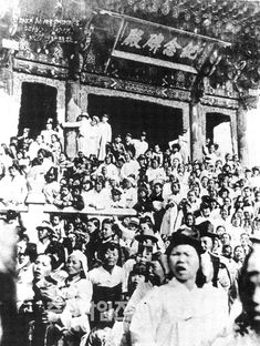 March 1919, they were waiting for the funeral of the last(the first) emperor of Korean empire, Gojong.