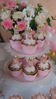 Festa De Aniversario Tema Ursa Princesa Ursinha Princesa Bolo