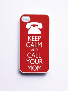 My husband needs this. Keep Calm Apple iPhone 4 Case by onyourcasestore on Etsy, $16.99