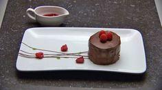 Raw Chocolate Ganache Cake by Kira Westwick