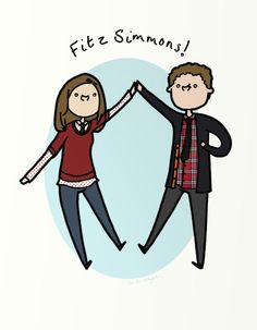 Agents of Shield - I love how they are universally referred to as one person; always FitzSimmons not Fitz and Simmons or whatever