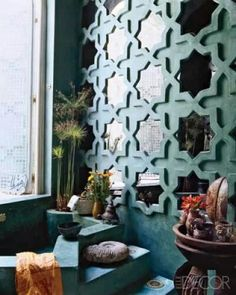 Moroccan style mirrors