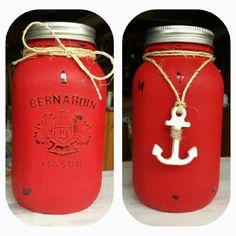 Bernardin Mason Jar with a mini chalkboard lid! Cute in the front Nautical in the back! Mini Chalkboards, Upcycling Projects, Nautical, Mason Jars, Upcycle, Canning, Mugs, Luxury, Tableware