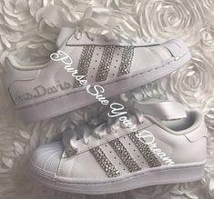 Swarovski Crystal Design Bridal Adidas Superstar Wedding Shoes - Swarovski  Adidas - Swarovski Weddin 2e3a7227e5