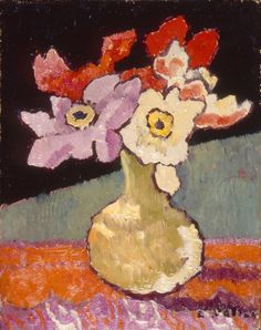 Louis Valtat (French, 1869–1952). Flowers, ca. 1912.