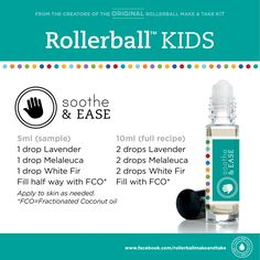 rollerball remedies recipes - Google Search