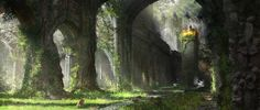 ArtStation - Joel Bewley's submission on Ancient Civilizations: Lost & Found - Environment Design