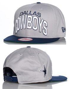 New era football snapback cap interchangable snaps for Dallas cowboys fishing hat