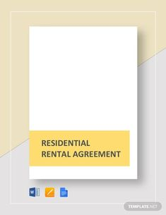 House Rental Agreement Template - Word (DOC)   Google Docs   Apple (MAC) Apple (MAC) Pages   Template.net Lease Agreement Free Printable, Rental Agreement Templates, New Home Checklist, Word Doc, Real Estate Investing, Letter Size, Being A Landlord, Renting A House, Google Docs