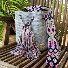 Items similar to Crochet Granny Square Bag. Shoulder Cotton Bag on Etsy Maya, Boho Crochet, Tapestry Crochet, Crochet Bags, Hand Crochet, Crochet Shoulder Bags, Embroidery Techniques, Hand Knitting, Margarita