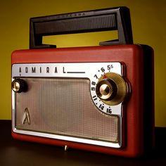 Nice... Vintage Retro Admiral Magal 50's Radio!