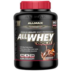 sports-fitness-athletic: ALLMAX Nutrition, AllWhey Gold, 100% Whey Protein ...