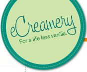 eCreamery= make your own ice cream flavor!