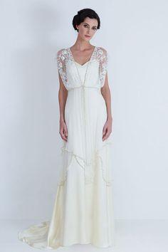 Свадебные платья в стиле ретро фото 12