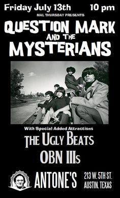Question Mark & The Mysterians.