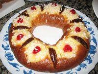 Platos Latinos, Blog de Recetas, Receta de Cocina Tipica, Comida Tipica, Postres Latinos: Rosca de Reyes - Postre Tipico Argentino - Argentina Recipes