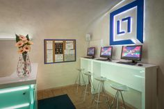 Little Quarter is located in Nerudova street, directly on the famous Royal Route, which winds through the heart of the historical centre of Prague. Hostel, Corner Desk, Reception, Furniture, Home Decor, Offices, Corner Table, Decoration Home, Room Decor
