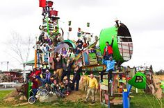 playscapes: The Playscapes of Bridget Beck, Minnesota USA