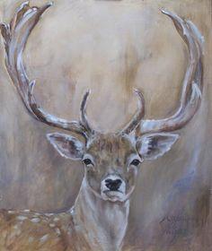 ^ ^ by Angelique Weijers Animal Paintings, Animal Drawings, Art Drawings, Oil Painting Abstract, Painting & Drawing, Watercolor Animals, Watercolor Art, Deer Art, Wildlife Art