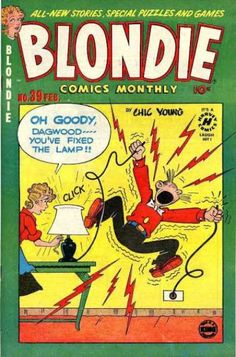"""""""Buster Brown"""" comics created the Mary Jane shoe; """"Blondie"""" comics created the Dagwood sandwich. Chic Young's son Dean attempted to open up a chain of Dagwood sandwich shops, but they went bust."""