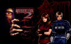 Resident Evil 2 Claire | Resident Evil 2 Claire and Leon by EvanOdinson