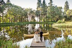 Photography: Lauren Brooks - http://www.stylemepretty.com/portfolio/lauren-brooks   Read More on SMP: http://www.stylemepretty.com/2012/05/25/casual-bridal-veil-lake-wedding-from-lauren-brooks/