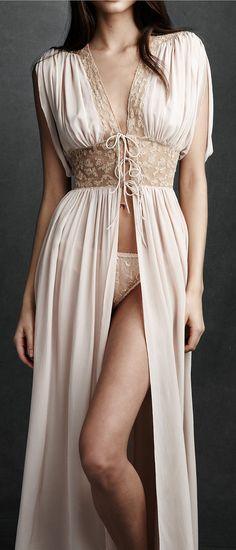beautiful lingerie; penoir by bhldn, Anthropologie
