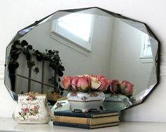 Antique Mirror for Mantle