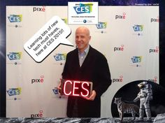 Learning lots of new tech must haves, here at CES 2015!! #CES2015 #PixeSocial
