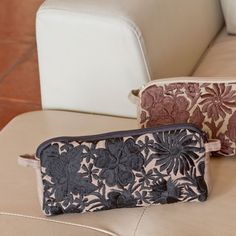 Holiday travel time: beautiful fair trade embroidered toiletry bags **Altiplano