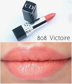 Dior Rouge Dior Lipsticks for Spring 2015 Dior Lipstick, Lipstick Shades, Lipstick Colors, Lipsticks, Matte Lipstick, Lipstick Tricks, Lipstick Kiss, Lip Colors, Lipstick Tutorial