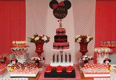 Quer decorar o aniversário da sua filha com a Minnie? Então, vem ver algumas ideias incríveis!