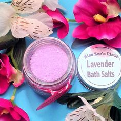 A personal favorite from my Etsy shop https://www.etsy.com/listing/400415701/2-ounce-lavender-bath-salts-relaxing
