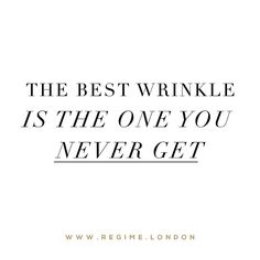 The best wrinkle is the one you never get  _ Shop by clicking the link in the bio @regimelondon or go to www.Regime.London
