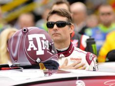 Jeff Gordon pleased with restart, runner-up finish at Texas. #TexasA&M #Aggie #ATM