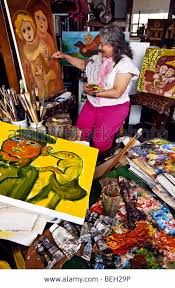 Mirka Mora studio Dream Studio, Outsider Art, Artist At Work, Amazing Women, Studios, Wicked, Artisan, Australia, French