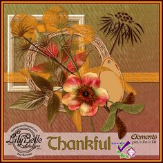 THANKFUL - Elements and Papers