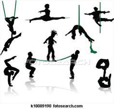 The gallery for --> Circus Acrobat Silhouette Circus Acrobat, Circus Art, Circus Theme, Circus Tents, Carnival Tattoo, Cena Show, Circo Vintage, Halloween Circus, Shadow Theatre