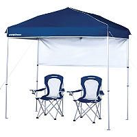 10 X 16 Pop Up Canopy With Fold Up Sides At Big Lots Love