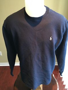 New to MajorDivision on Etsy: Vintage Navy Blue Polo Ralph Lauren Sleep Wear Long Sleeve (25.00 CAD)