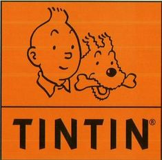 Vintage Poster - Tintin & Snowy