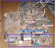 electronics repair made easy: How to troubleshoot CRT Television switch mode power supply problems (s. Switched Mode Power Supply, Crt Tv, Plasma Tv, All Mobile Phones, Circuit, Make It Simple, Easy, Board, Sign