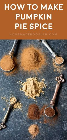 Forget to pick up some pumpkin pie spice? Me, too! Thankfully you can make your own pumpkin spice at home with these four common spices!